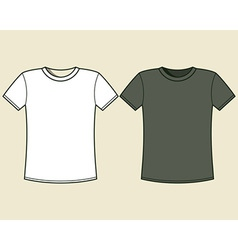 Black and white t-shirt design template vector