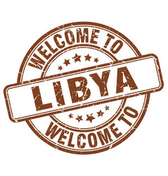 Welcome to libya vector