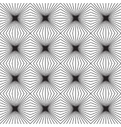 Seamless geometric pattern optical vector