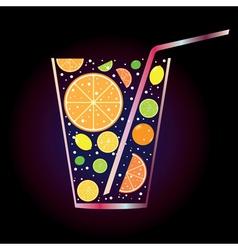 Citrus juice2 vector