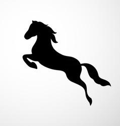Horse logo vector image vector image