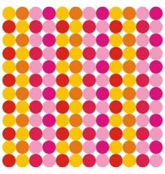 pattern circles vector image