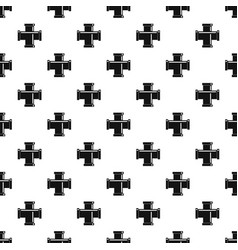 black pipe fitting pattern vector image
