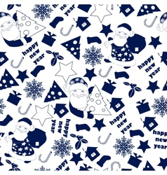 Christnas background seamless wallpaper vector