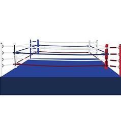 Boxing ring vector