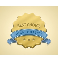 Best choice seal vector image vector image