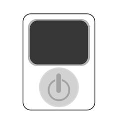 power device button icon vector image