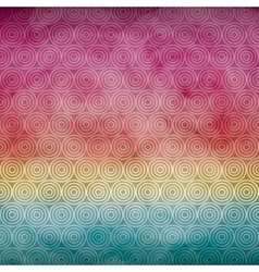 Spiral background icon watercolor design vector