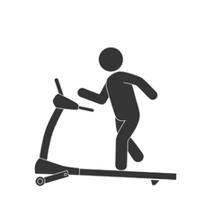 Walker gym equipment vector