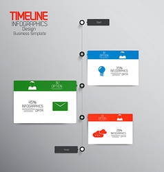 Infographics template 3 vector