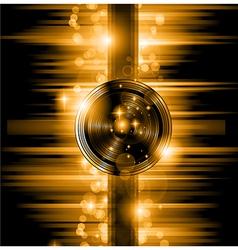 The Art of Disco Flyer - Stunning Speakers vector image