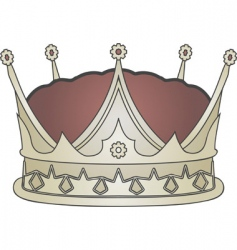 crown illustration vector image
