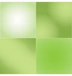Halftone Screen Gradation vector image