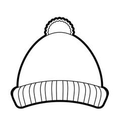 Beanie hat vector