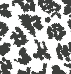 cow skin pattern vector image