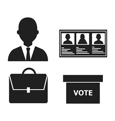 Political design vector