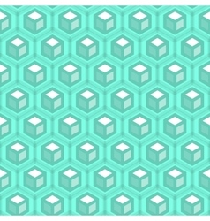 Abstract hexagonal seamless pattern vector