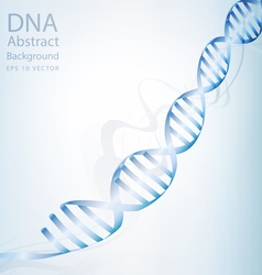 Dna abstract light white colour background vector