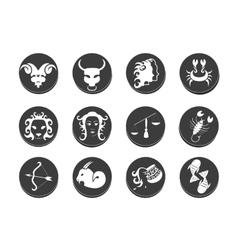 Zodiac tattoo stencil vector