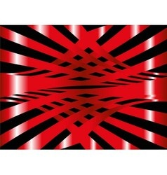 Red arc abstract background vector