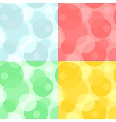 Seamless pattern - circles background vector