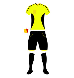 abstract soccer object vector image