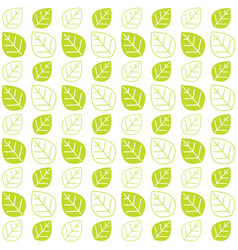 Green leaves texture pattern background web theme vector