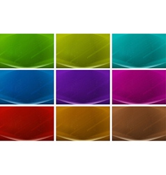 Colourful backgrounds vector