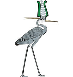 Ibis vector image