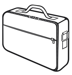 bag for laptop vector image vector image