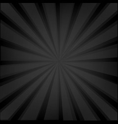 black background texture with sunburst vector image vector image