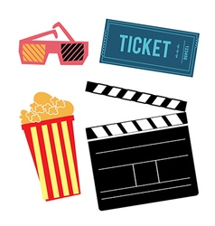 cinema vector image vector image