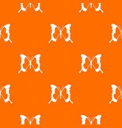 Swallowtail butterfly pattern seamless vector
