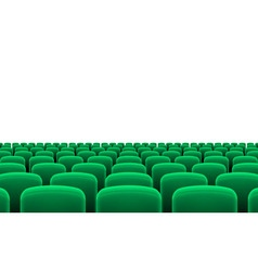 Theater seats vector image vector image