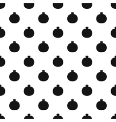 Pomegranate pattern simple style vector