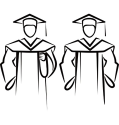 Simple with a graduate vector