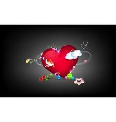 Love Fantasy vector image