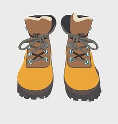 tour boots 03 vector image