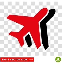 Airlines eps icon vector