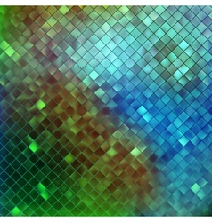 Blue glitters on a soft blurred background EPS 10 vector image vector image