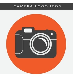 Camera logo icon vector