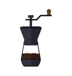 Coffee grinder icon vector