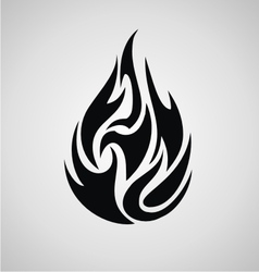 Tribal fire vector