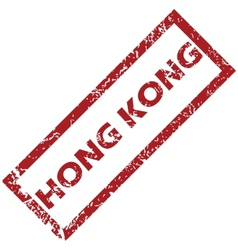 New hong kong rubber stamp vector