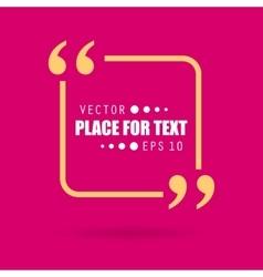 empty speech vector image