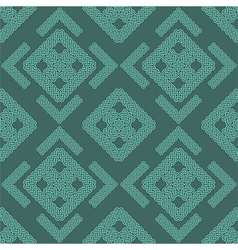 celtic knot seamless pattern one vector image