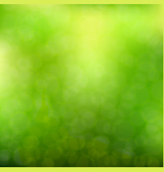 Blurred green background vector