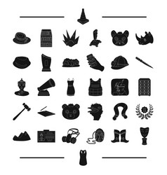 Clothing cinema mongolia and other web icon in vector