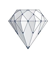 Diamond icon vector