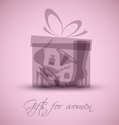 Gifts for women vector image vector image